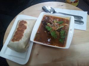 Ravi Stew w/ Wrap Combo