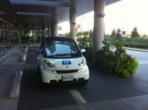 Car2Go Parked