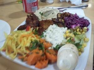 Sabich Dinner