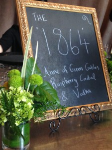 Anne of Green Gables Cocktail '1864'
