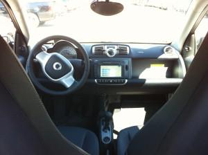 Car2Go Interior