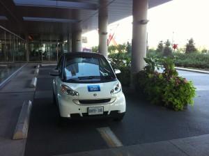 Car2Go Parked
