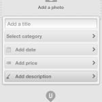 Uniiverse iPhone App Create Events