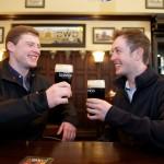 The Irish Mark Rossiter (left) and David Tunney (right)