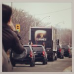 Guinness Canada Motorcade Photo
