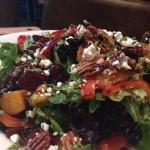 Roasted Beet & Peach Salad