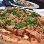 Kung Pao Chicken Pizza