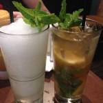 Arctic Mojito and Non-Alcoholic Lemon Tea Mojitos